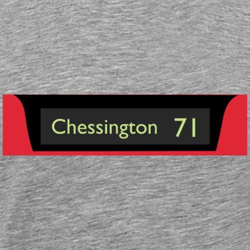 Chessington Route 71 - Men's Premium T-Shirt