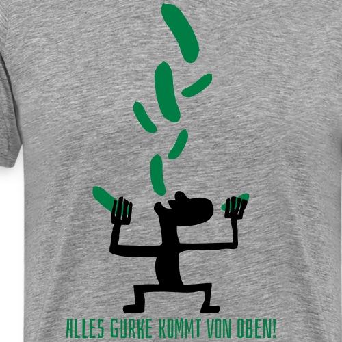 Alles Gute vs. Alles Gurke - Männer Premium T-Shirt