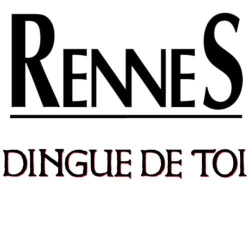 Rennes dingue de toi - T-shirt Premium Homme