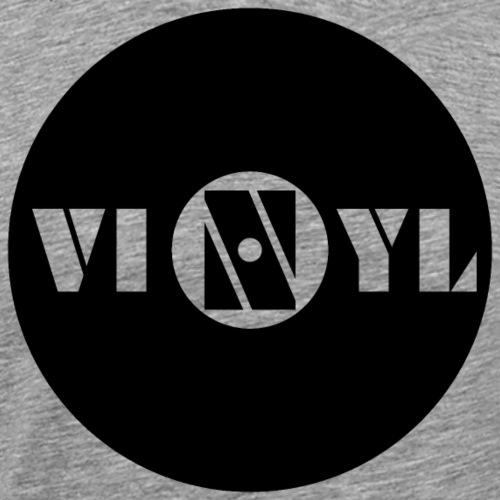 #vinyl - Männer Premium T-Shirt