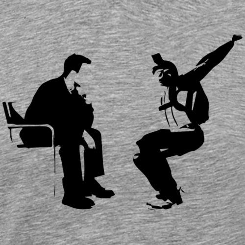 Parachutiste freefly - T-shirt Premium Homme