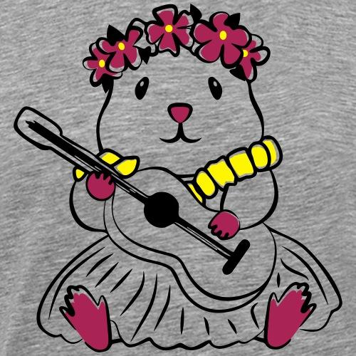 Hamster Hawaii - Männer Premium T-Shirt