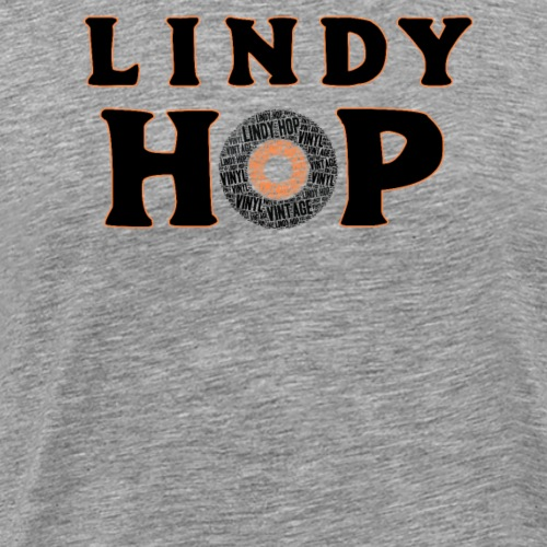 Lindy Hop Dance vintage Tanz T-shirt - Männer Premium T-Shirt