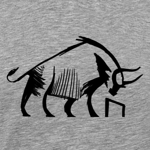 Uruz der Auerochse - Männer Premium T-Shirt