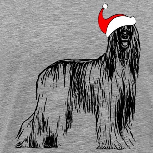 Weihnachten Afghanischer WindhundHund Geschenk - Männer Premium T-Shirt
