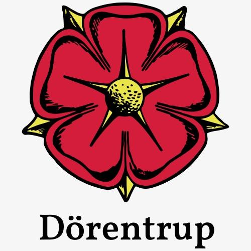 Lippische Rose mit Unterschrift Dörentrup - Männer Premium T-Shirt