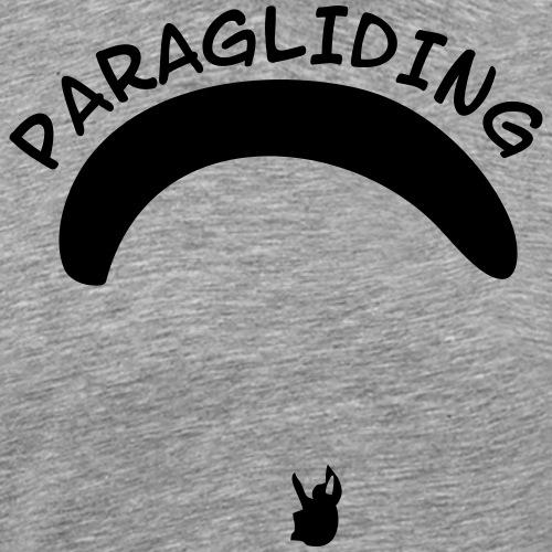 Paragliding Gleitschirmflieger Geschenk T-Shirt - Männer Premium T-Shirt
