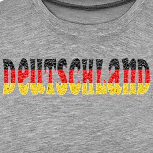 Deutschland flag crystal - Men's Premium T-Shirt