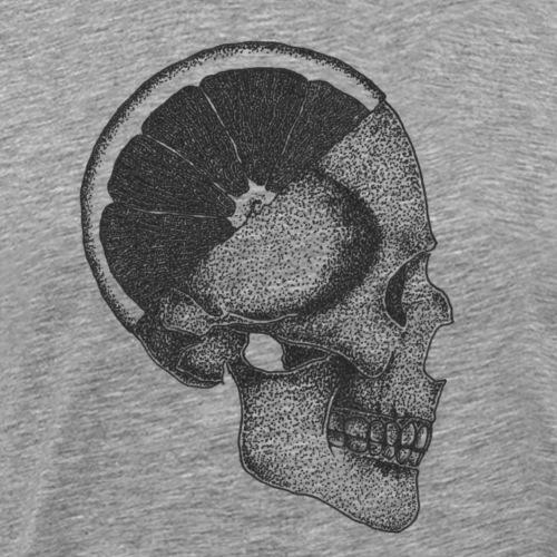 The Skull [BLACK] - Men's Premium T-Shirt
