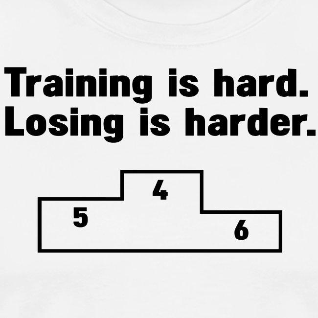 Training vs losing