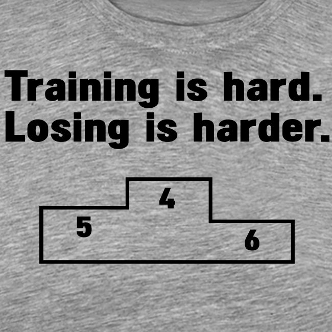 Training vs losing