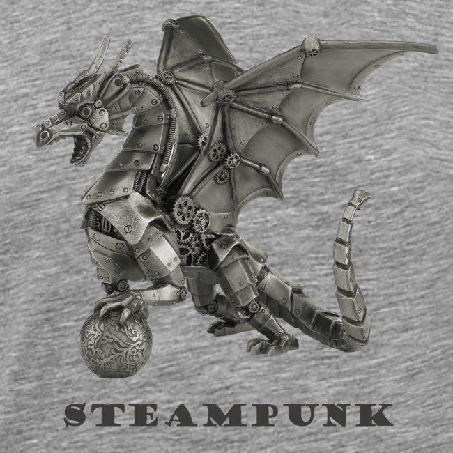 Steampunk Drachen Punk Retro