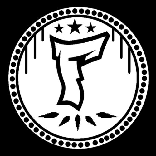 F Logo in Schwarz/Weiß - Männer Premium T-Shirt