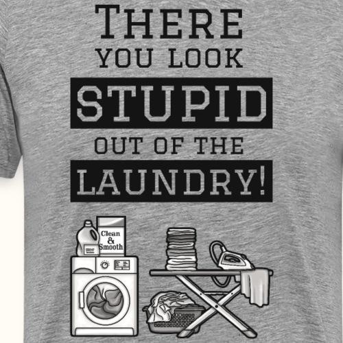 Laundry - grau - Männer Premium T-Shirt
