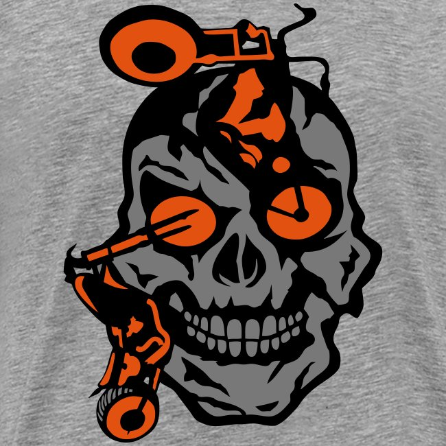 tete mort moto motrocycle oeil skull