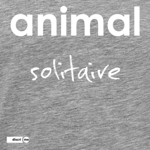 animal solitaire - T-shirt Premium Homme