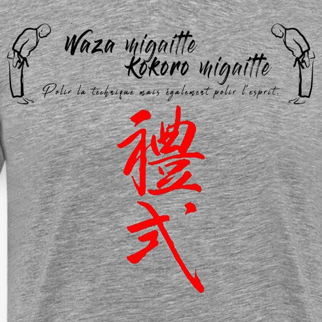 'Waza migaitte, Kokoro migaitte''