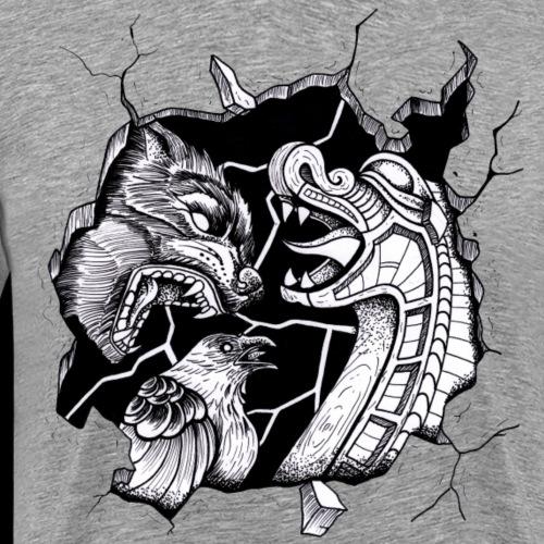 Heide inside - Männer Premium T-Shirt