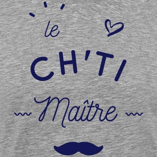 Le ch'ti maître - T-shirt Premium Homme