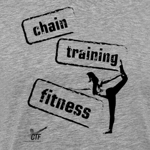 Chain Training FItness - Men's Premium T-Shirt
