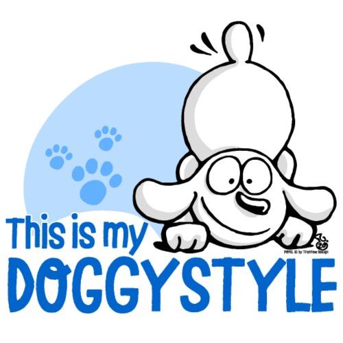 POPELS Hund im Doggystyle - Männer Premium T-Shirt