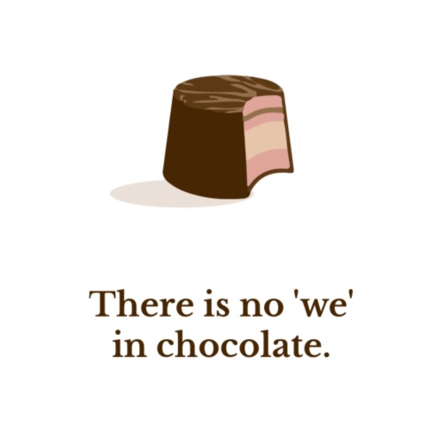 Chocolate - Männer Premium T-Shirt
