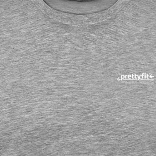 pretty.fit® weiss - Männer Premium T-Shirt