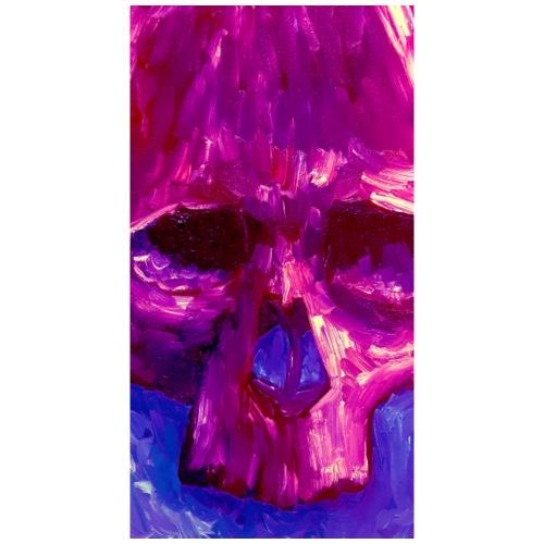 Purple Skull - Mannen Premium T-shirt
