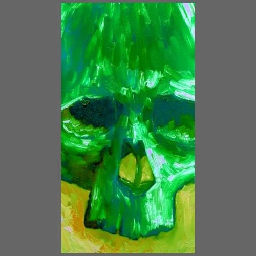 Green Skull - Mannen Premium T-shirt