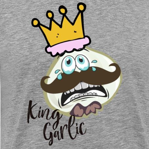KING GARLIC | GESCHENKIDEE - Männer Premium T-Shirt