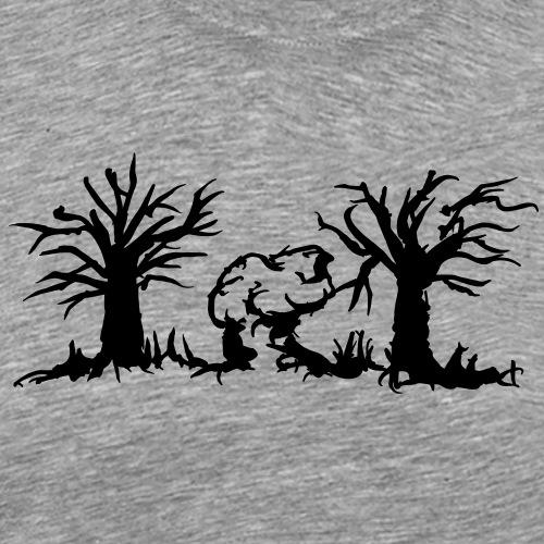 Waldfelsen - Männer Premium T-Shirt