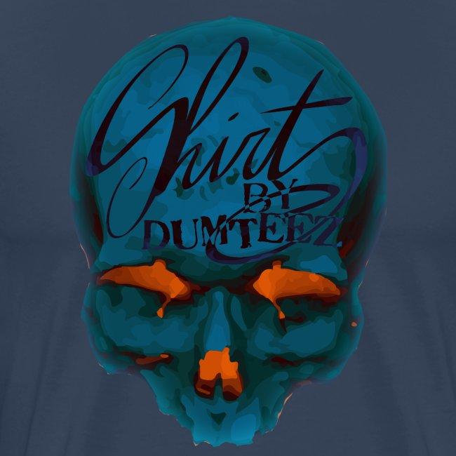 Dum Skull Orange glow