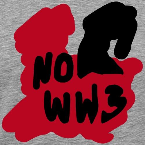 no worldwar 3 - Männer Premium T-Shirt