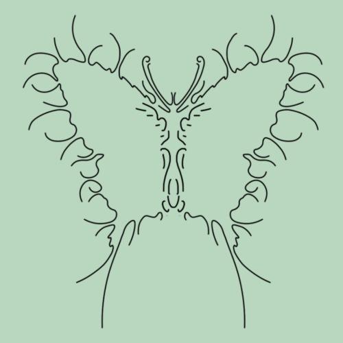 Vlinder Butterfly - Mannen Premium T-shirt