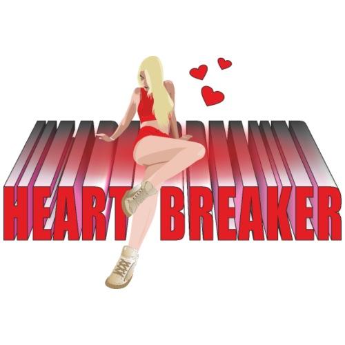 Heart breaker - Camiseta premium hombre