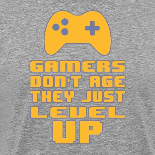 Gamers do not age - Men's Premium T-Shirt