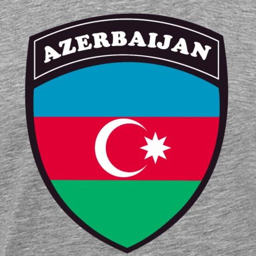azerbaijan blason - T-shirt Premium Homme