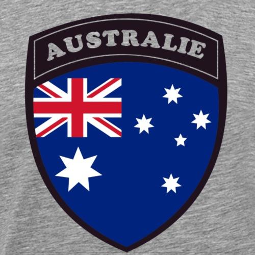 Australie Blason - T-shirt Premium Homme