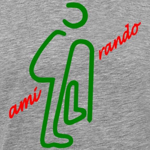 Amirando44 rouge vert fonce - T-shirt Premium Homme