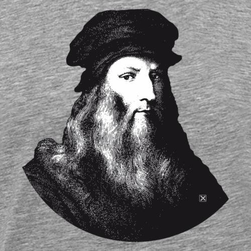 Leonardo Da Vinci - Camiseta premium hombre