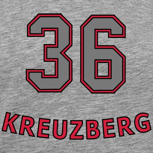 KREUZBERG 36 - Koszulka męska Premium