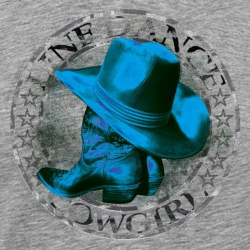 kl_linedance26a - Männer Premium T-Shirt
