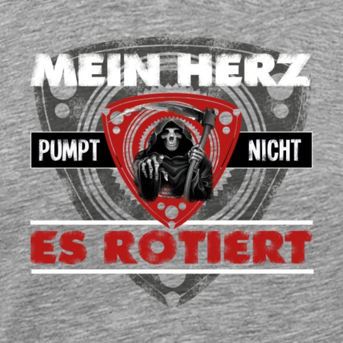 Wankel / Rotary Motor Spruch - Männer Premium T-Shirt