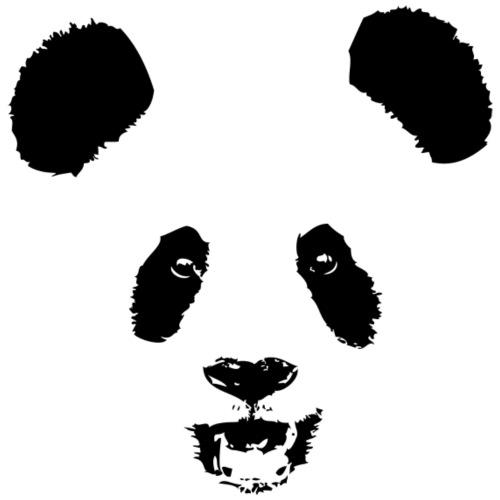 Panda Gesicht - Face