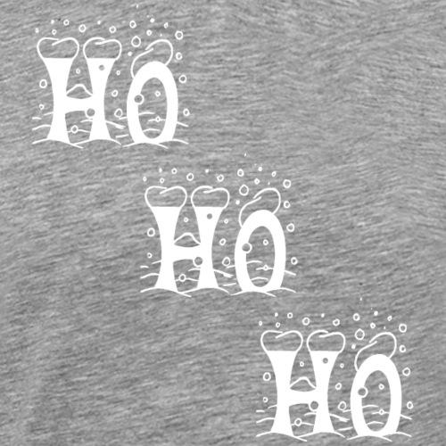 Weihnachtspullover - Ho Ho Ho - Männer Premium T-Shirt