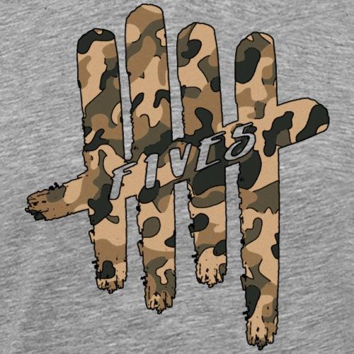 FIVES camo - T-shirt Premium Homme