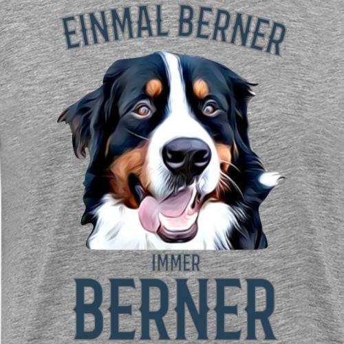 Berner Sennenhund Bern Geschenk Hundehalter - Männer Premium T-Shirt