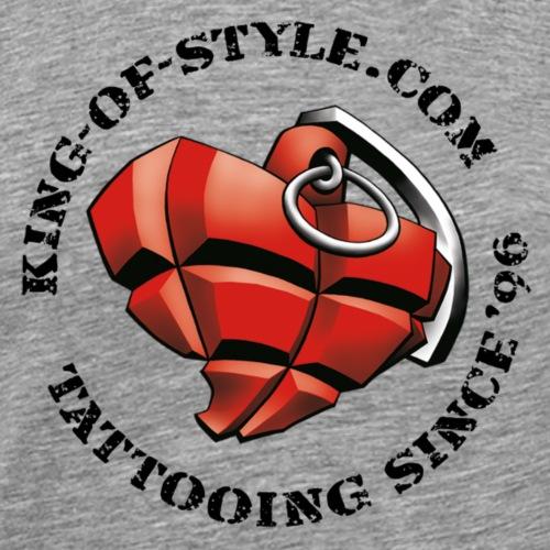 King-of-Style Logo 1 - Männer Premium T-Shirt
