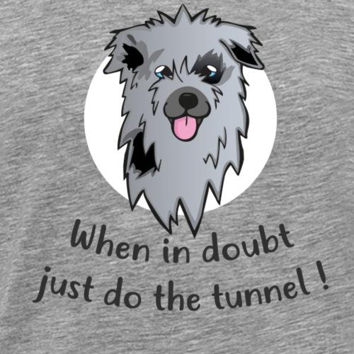 pyrshep Tunnel-2 - Männer Premium T-Shirt