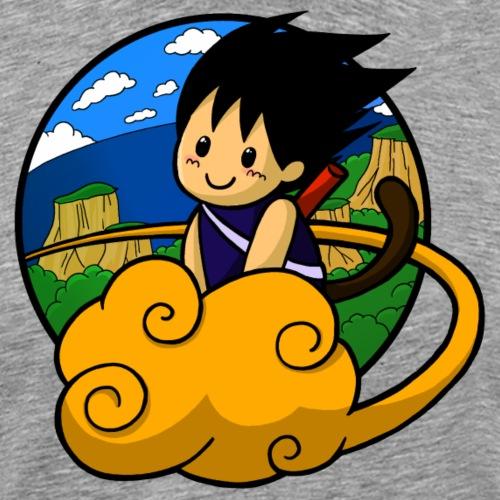 Boy on Cloud - Männer Premium T-Shirt